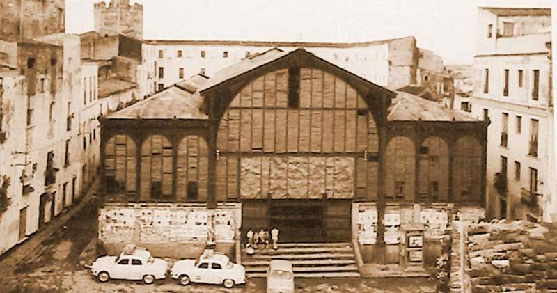 En su antiguo emplazamiento de la Plaza Alta