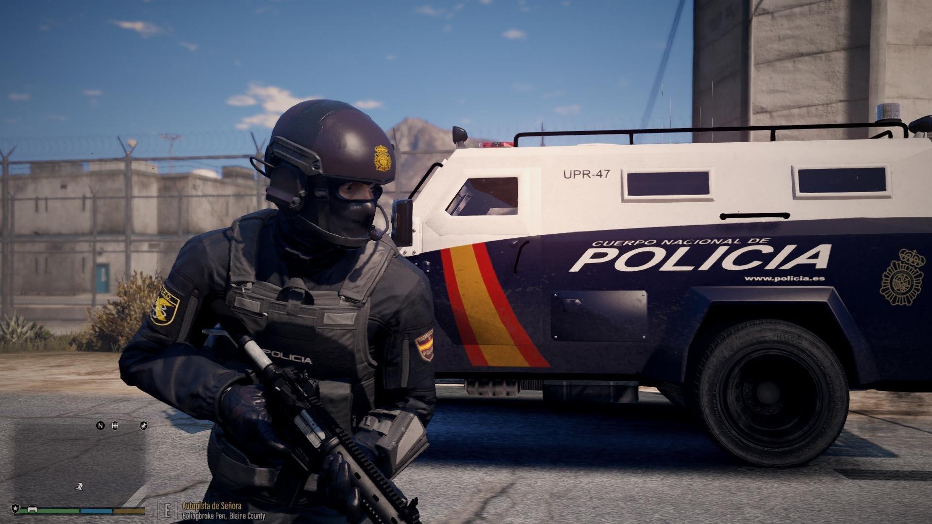 La eficacia de la Policía española es proverbial. Ministerio del Interior