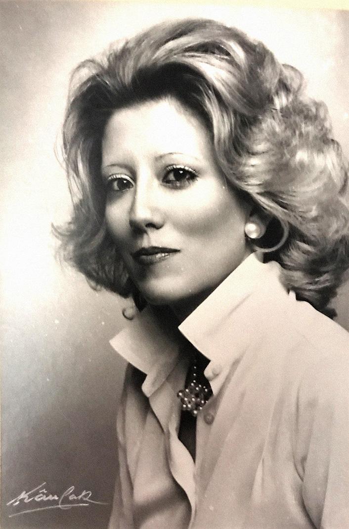 Rosa Puch, en sus años de presentadora de TVE.