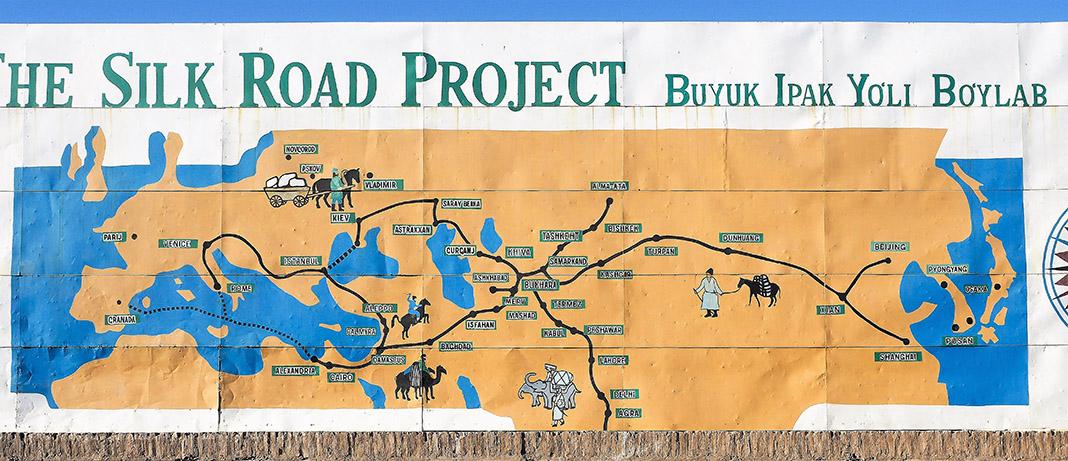 Xiva era un cruce de caminos en la Ruta de la Seda. CHEMA BUENECHEA