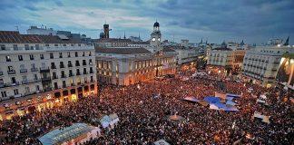 Plaza del Sol de Madrid. Aquí empezó todo.