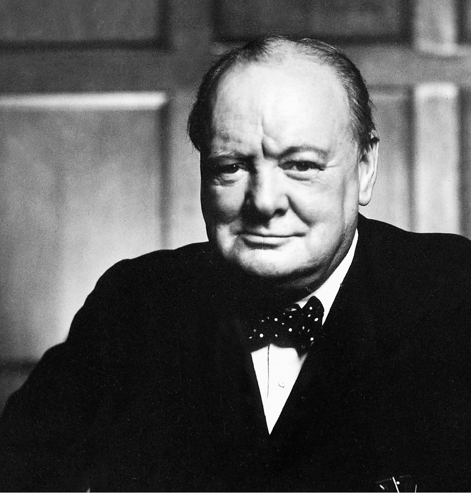 Churchill fue masón, como tantos grandes líderes. W. CH. FOUNDATION
