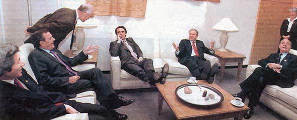 Los bandazos de Aznar fueron antológicos.