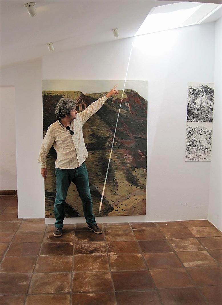 En una de sus exposiciones. PROPRONews