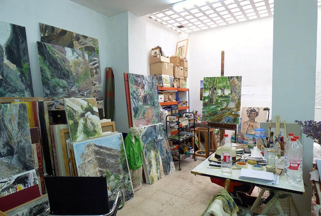 Estudio del artista en Sevilla. PROPRONews