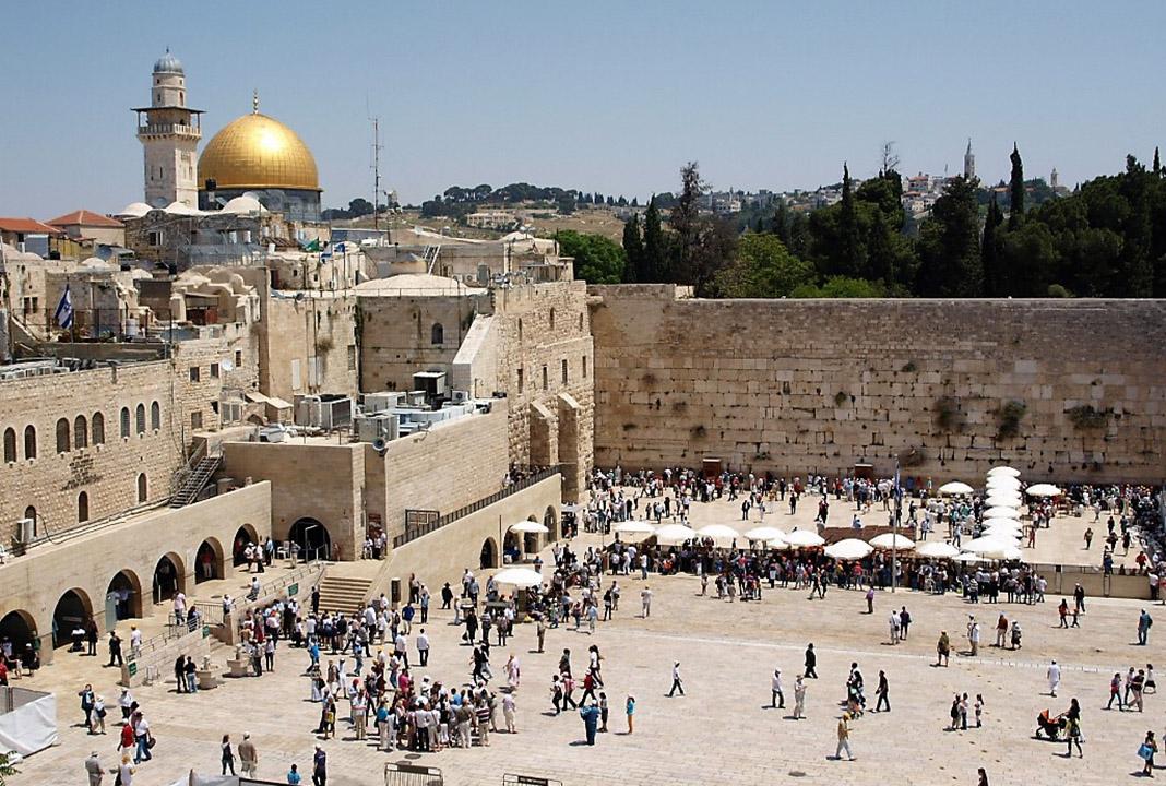 Lugar del antiguo templo de Salomón en Jerusalén, destruido por los babilonios. PROPRONews