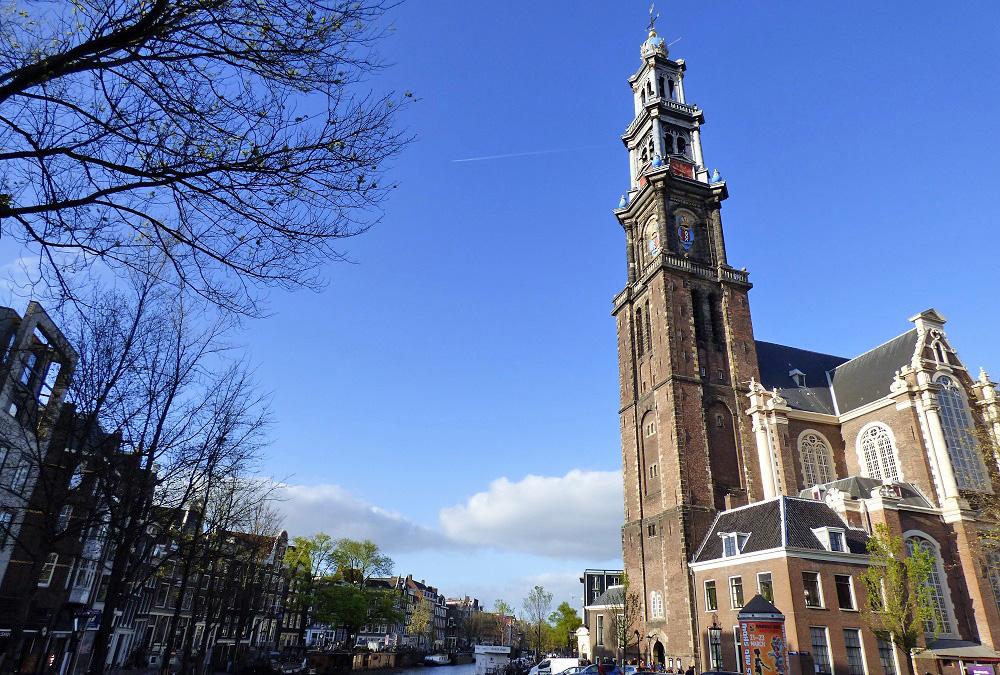 La Westerkerk, junto al escondite de la familia Frank. PROPRONews