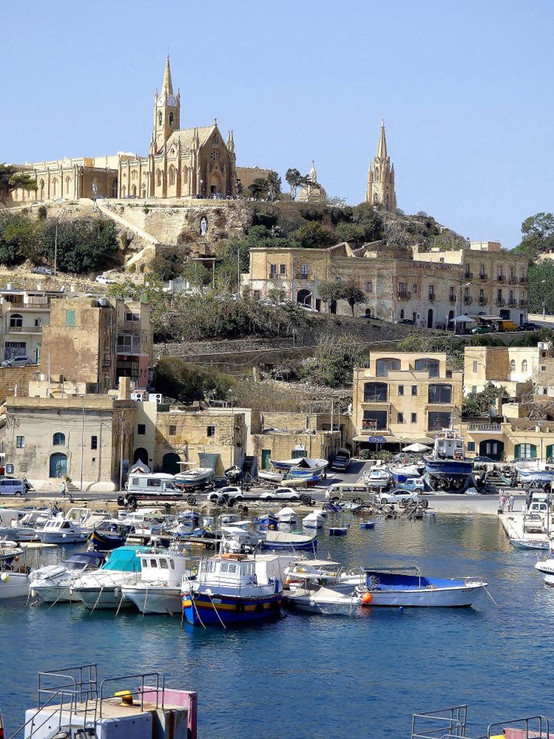 Llegada a Gozo. J.M.P.