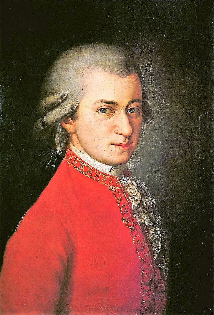 Mozart, genio de la música y destacado masón. WIKIPEDIA