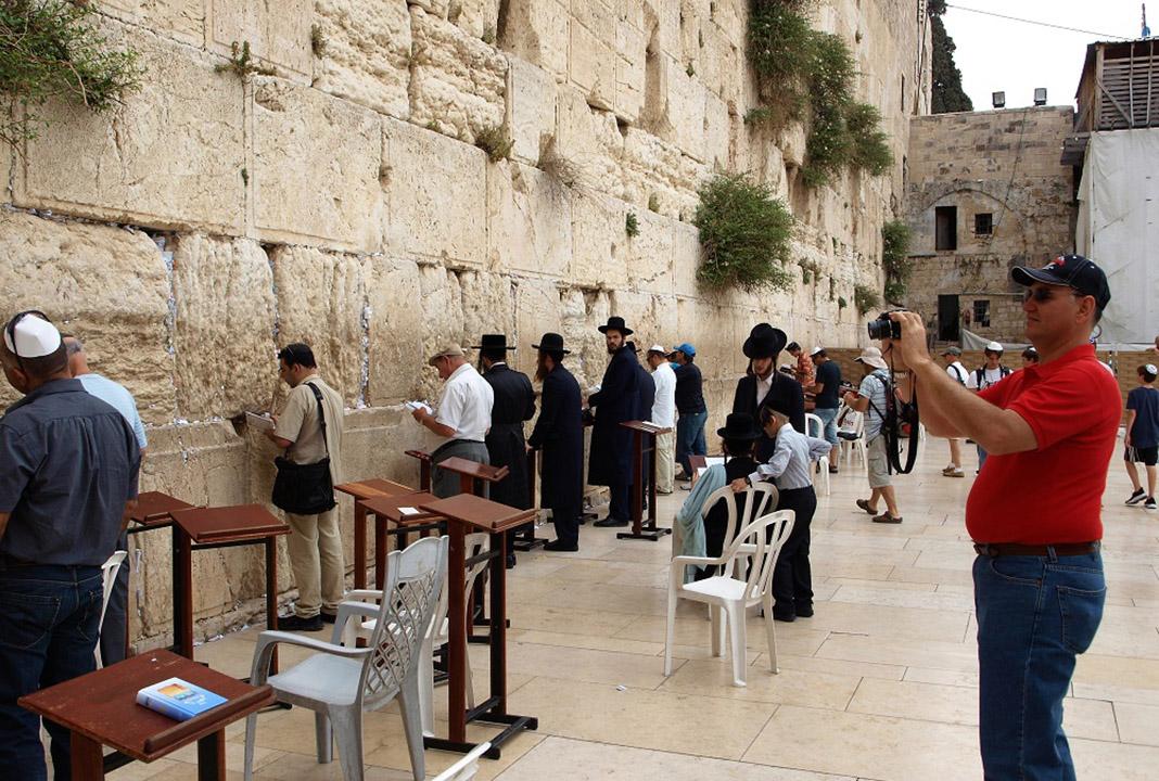 Muro de las Lamentaciones, en el emplazamiento del antiguo templo de Salomón. PROPRONews