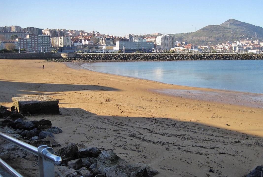 Playa de Getxo. Solo naturaleza. PROPRONews