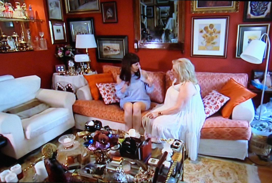 Rosa recibió en su casa a Natalia. PROPRONews