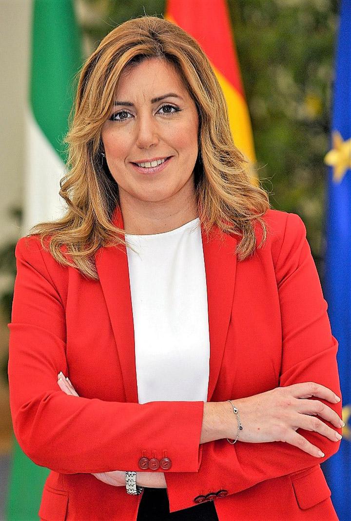 Susana Díaz. JUNTA DE ANDALUCÍA