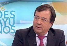 Vara, criticando a Sánchez en TVE