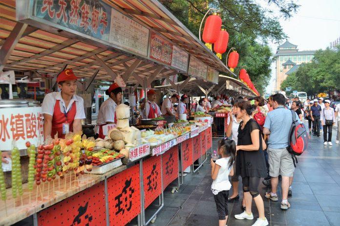 El desaparecido mercado de los bichos de Pekín.