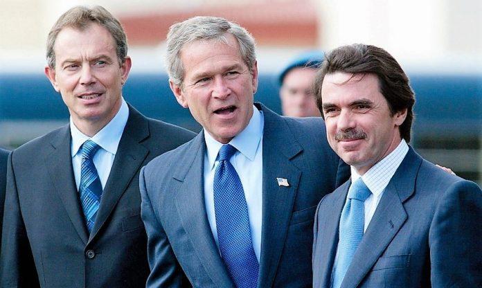 El trío de las Azores. Su irresponsabilidad es el origen de todo lo que está pasando.