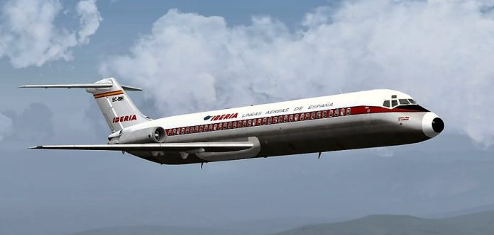 En este avión pasó todo. HJG