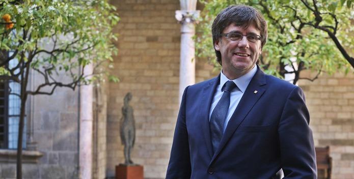 Carles Puigdemont. Las instituciones catalanas amenazan a los medios díscolos. GENERALITAT DE CATALUNYA