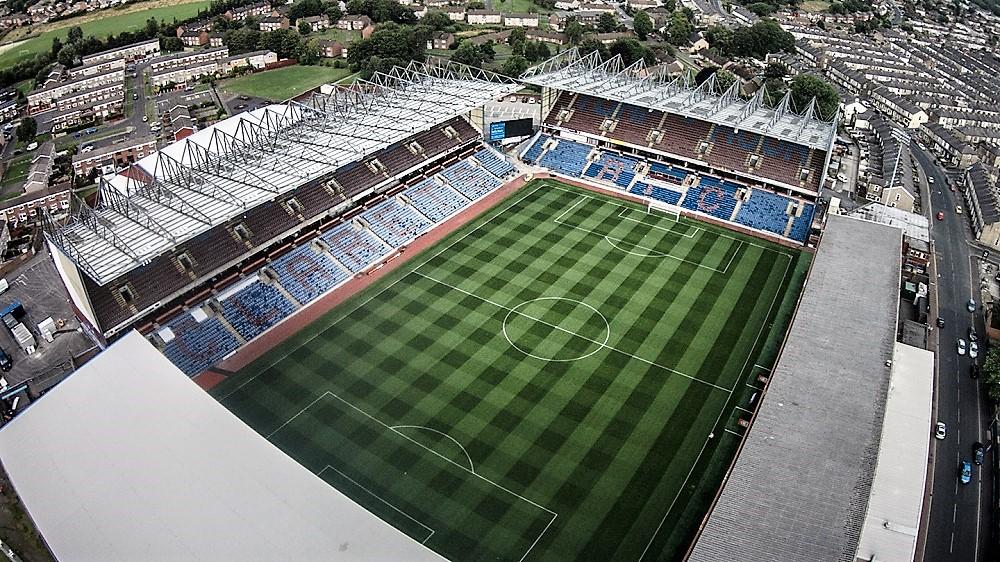 Estadio del Burnley F.C. (Reino Unido), del que es aficionado Iván