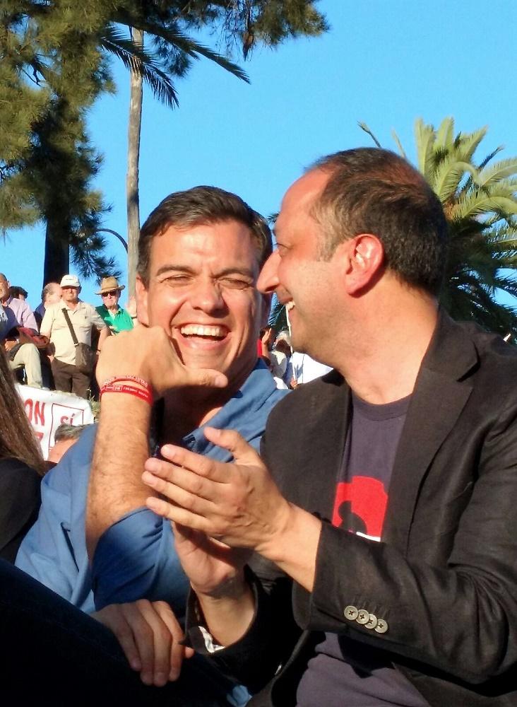 La militancia y los votantes lo fían todo al efecto Sánchez