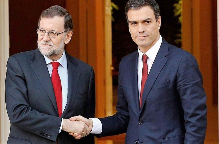 Aunque mire para otro lado, Rajoy empieza a asumir las tesis de Pedro Sánchez. RTVE