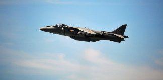 Harrier de la Aviación Naval española. PROPRONEWS