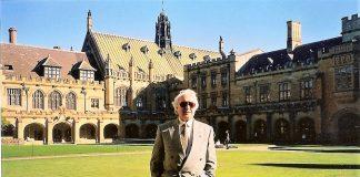 Ricardo en la Universidad de Sidney (Australia)