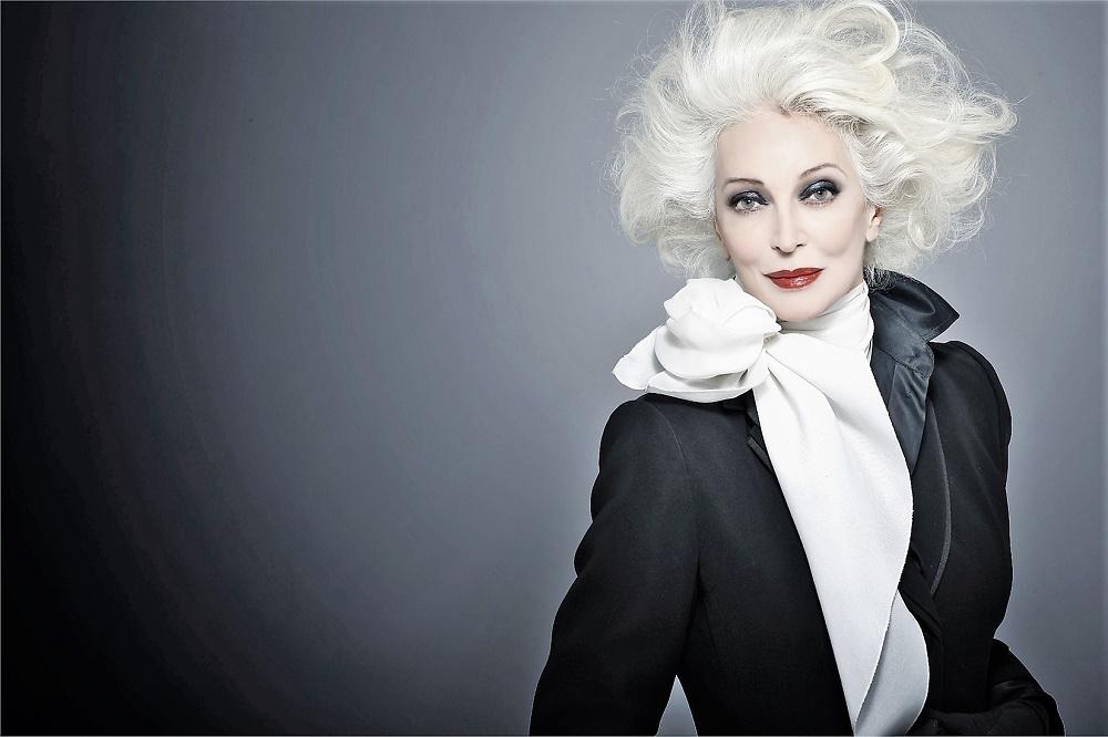 Carmen Dell´Orefice, modelo profesional con más de 86 años.CDO