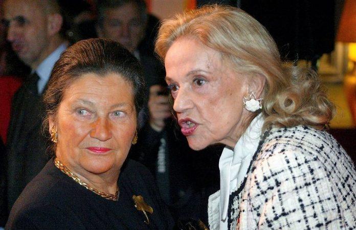 Simone Veil, la gran política europea y Jeanne Moreau, una actriz excepcional.