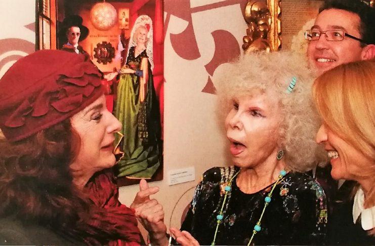 Elisa Blázquez volvería a dejar con la boca abierta a la duquesa de Alba si viviese y la oyese esta tarde.