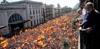 La manifestación de mañana en Barcelona será mayor que la del 8 de octubre. RTVE