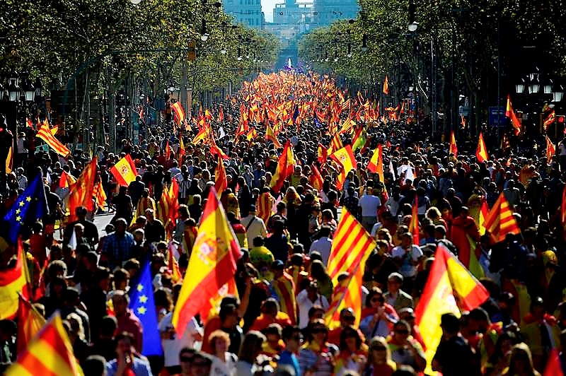 La mayoría ciudadana de Cataluña ha dejado de ser silenciosa. RTVE