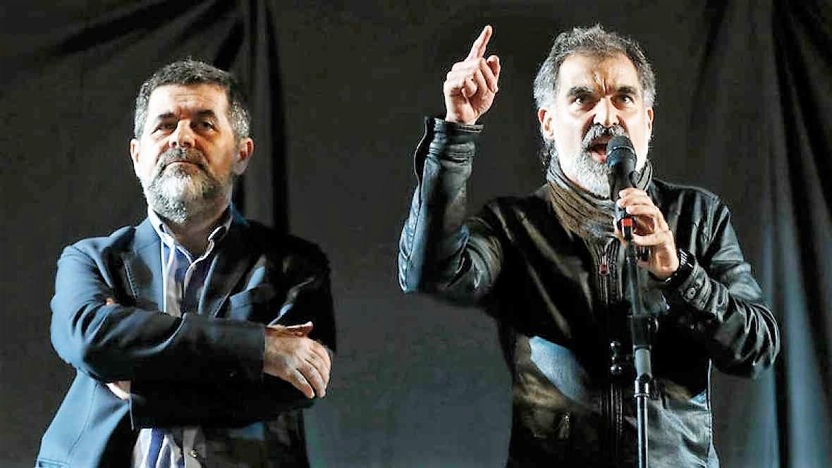 Los Jordis son los dueños de la situación, según algunos analistas. RTVE-EFE