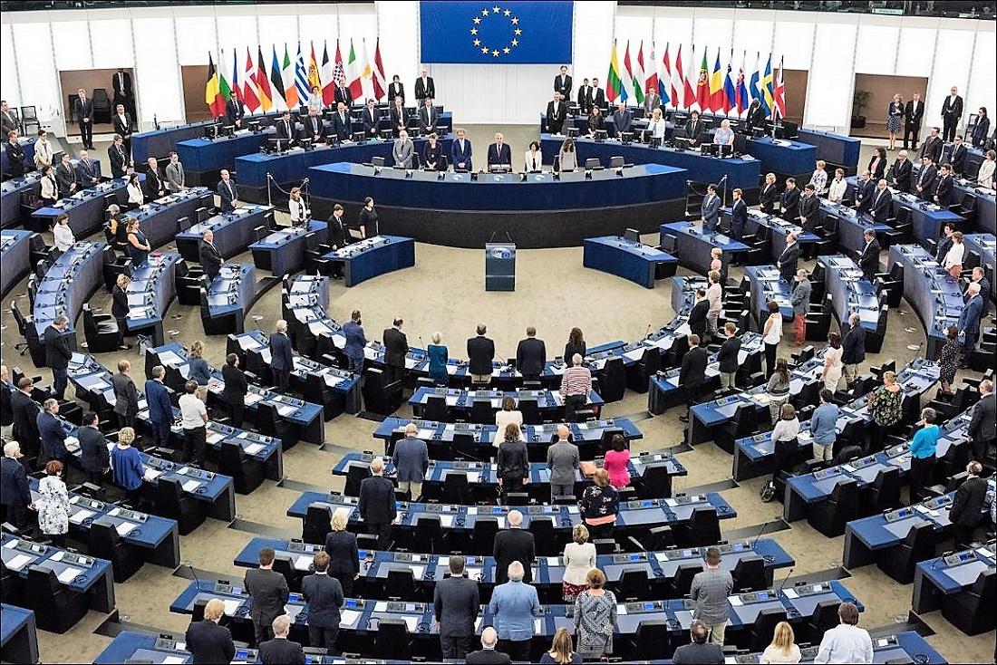 El Parlamento Europeo homenajea a su primera presidenta, tras su muerte en junio pasado. PE
