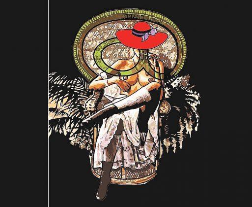 La ilustración de cubierta de Javier Remedios inspirada en Emmanuelle.