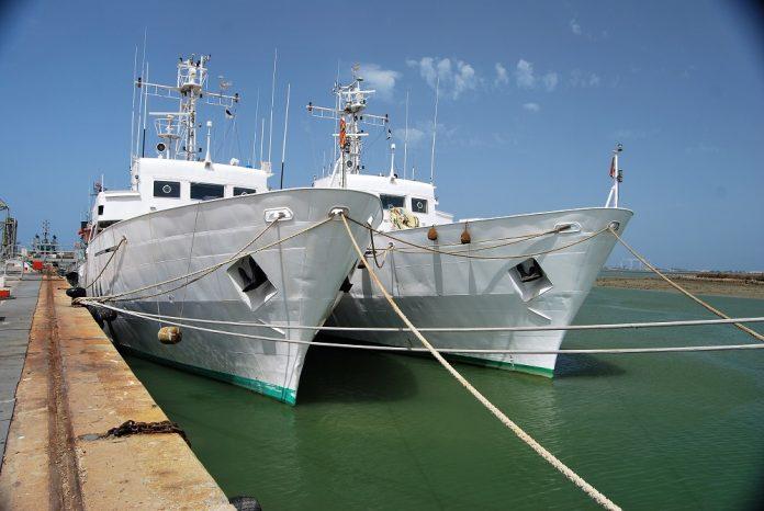 Buques hidrográficos de la Armada, en los que ha prestado servicio nuestro nuevo colaborador. PROPRONEWS
