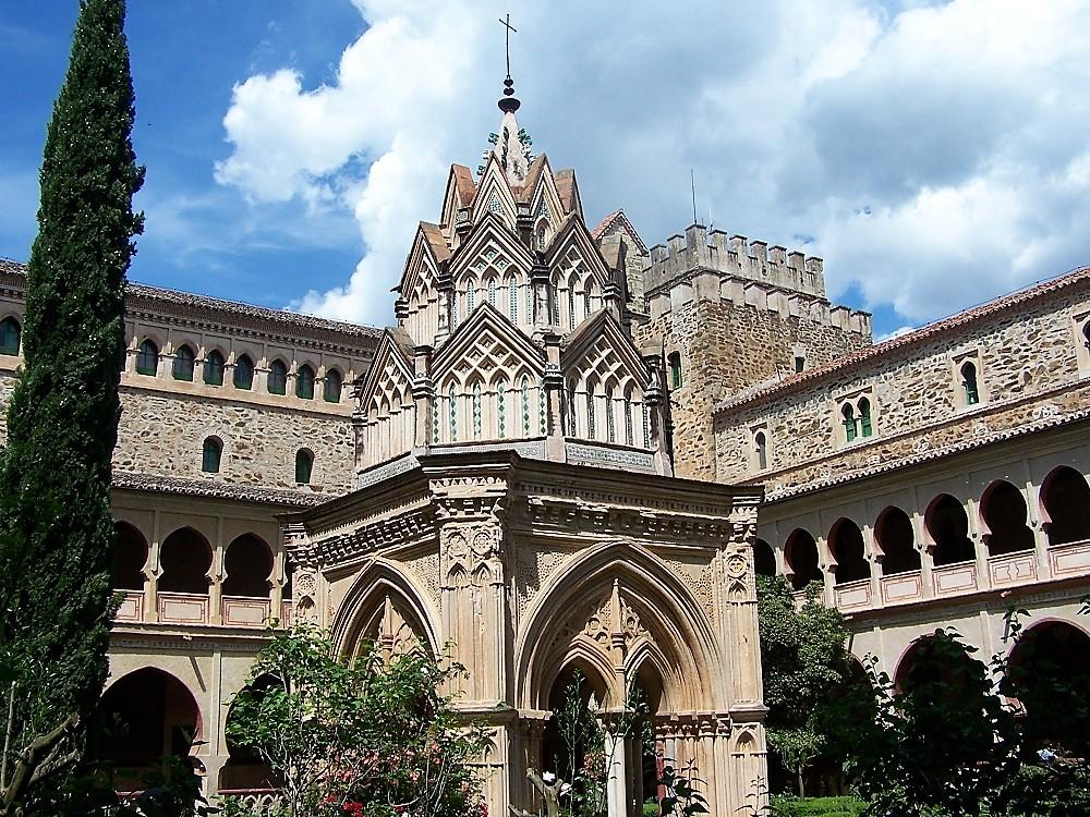 Uno de los maravillosos claustros del Monasterio. PROPRONEWS