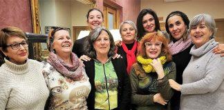 Algunas de las 17 mujeres que contarán hoy su experiencia. La vergüenza debe sentirla el acosador.