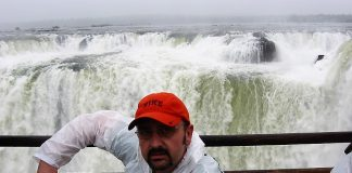 En Iguazú.