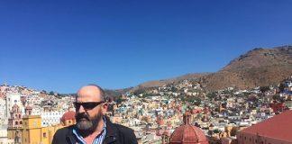 Francisco Calle en Guanajuato.