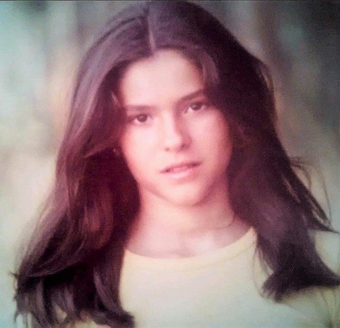 Leonor Martínez Pereda, en la época en que sufrió la agresión sexual.