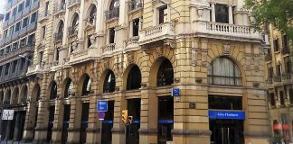 Sede central de Caixa d´Enginyers en Barcelona. WIKIPEDIA