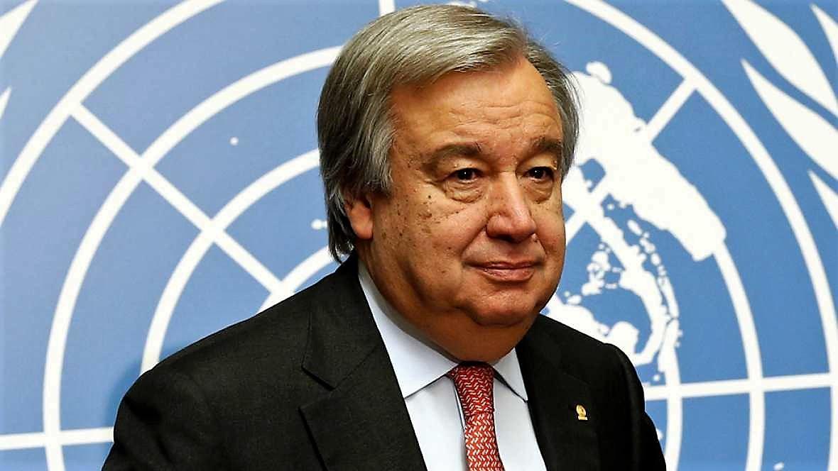 Antonio Guterres, Secretario General de la ONU. RTVE