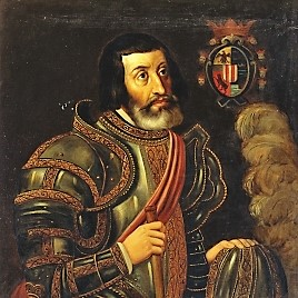 Retrato de Cortés.