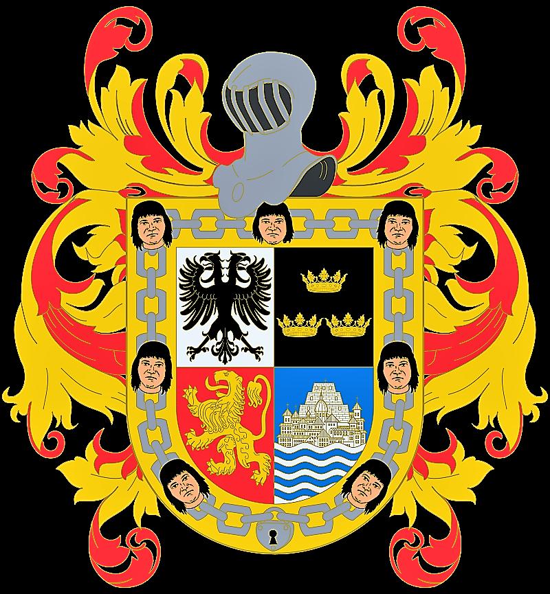Escudo de Hernán Cortés.