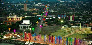 Vista aérea de la moderna Managua, capital de Nicaragua. JAIRO CAJINA