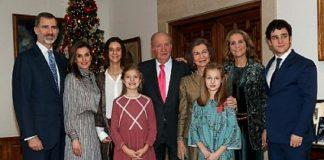 Reunión familiar por los 80 años del rey Juan Carlos. RTVE