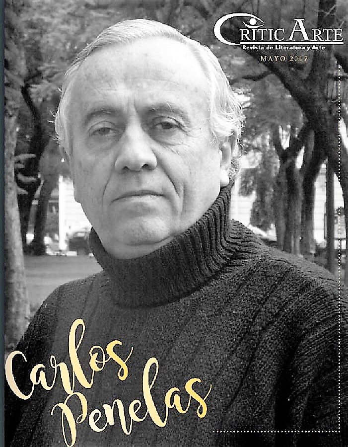 Portada de la revista Criticarte dedicada a Carlos Penelas.