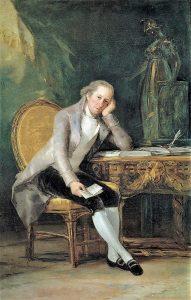 Jovellanos, el asturiano cumbre de la Ilustración española, retratado por Goya.
