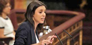 Irene Montero, portavoza por excelencia. RTVE